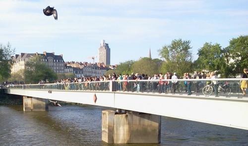 Rassemblement à Nantes après les naufrages en méditerranée2015-04-22 19.00.53