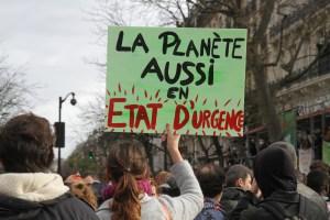 Paris, le 29 novembre 2015, marche et rassemblement pour l'ouverture de la COP21. Crédit Photo:<br /> Photothèque Rouge/JMB