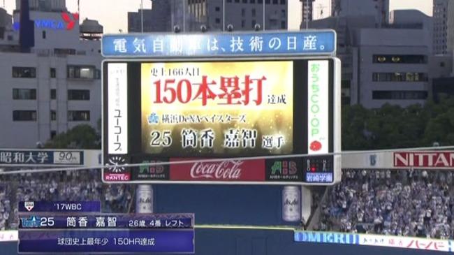 筒香嘉智(26) .260(150-39)12本32打点出塁率.360OPS.906←言うほど悪いか?