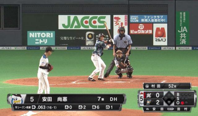【悲報】ドラ1ロッテ・安田尚憲さん、2打席連続三振で途中交代…打率は5分9厘