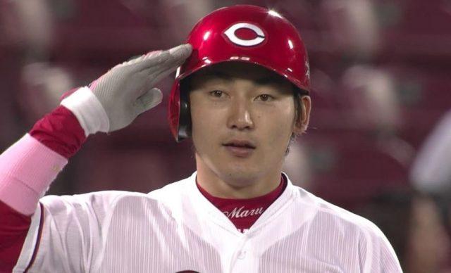 カープ丸佳浩の出塁率.488 このままならシーズン出塁率日本記録