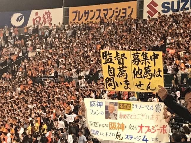 阪神ファン「金本、辞めてまえ!はよ辞めろ!」 金本「ほな辞めるわ」