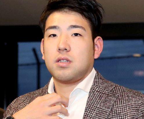 【悲報】菊池雄星さん、顔が太ったまま年越しへ