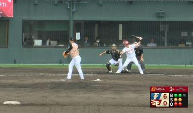 【朗報】球界のエース斎藤佑樹、3回をノーヒットピッチングで貫録を見せる