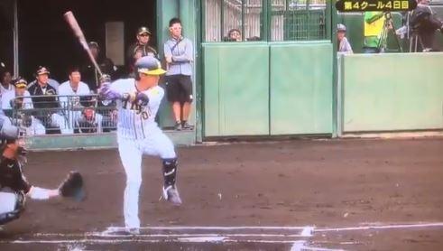 【朗報】阪神・上本2日連続先頭打者初球ホームランwwwwwwwww