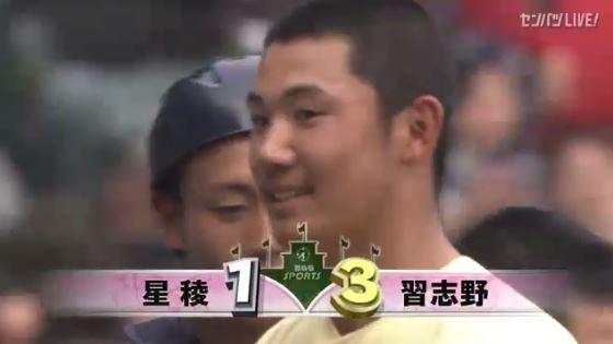 【悲報】星稜・奥川、2回戦で散る…習志野が初ベスト8