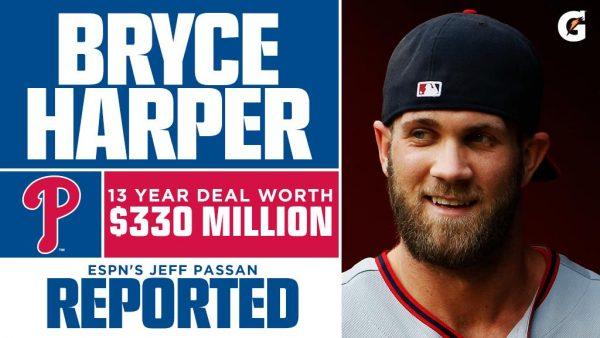 【MLB】ハーパー、13年・約366億円でフィリーズと契約合意wwwwww