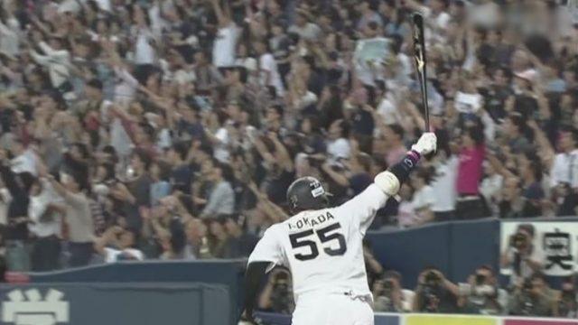 オリックスT-岡田の通算本塁打数169本