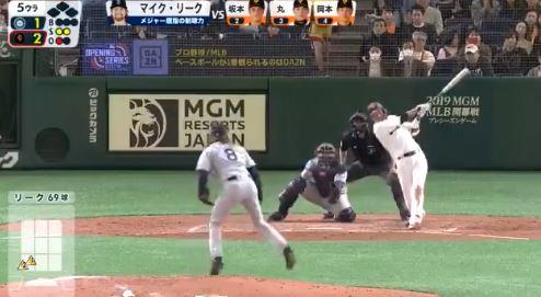 【GIF】和製ジーター坂本勇人がメジャー相手に完璧なホームランwwwwww