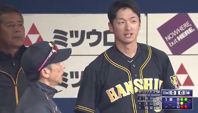 【GIF】阪神・近本さん、ヒットを放つも牽制死する…