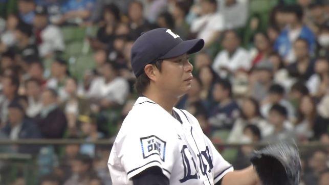 【悲報】西武・高木勇人さん、アウトが取れず涙目になる