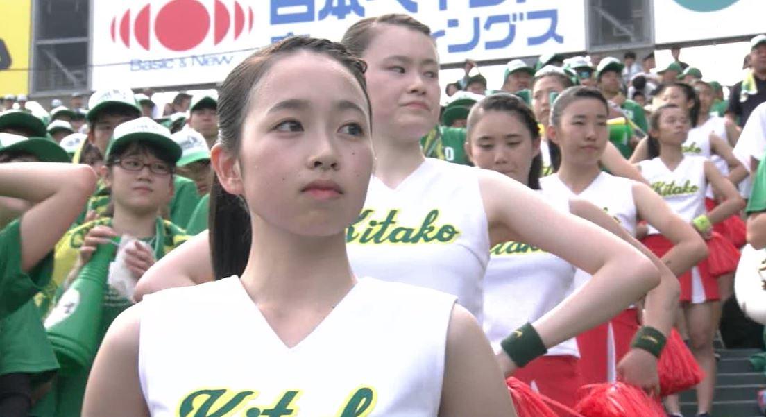 【画像】佐賀北のチアガールがアイドル級に可愛い…【高校野球】