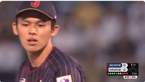 【悲報】高校日本代表・佐々木朗希さん、一回で降板する