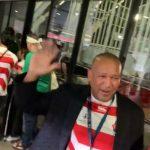 【悲報】DeNAラミレス監督、日本シリーズそっちのけでラグビーワールドカップ日本戦を観戦する