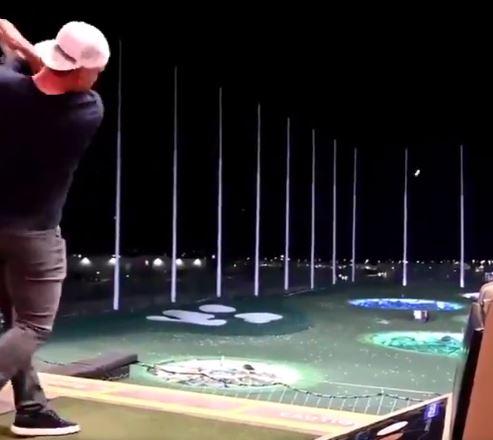 【動画】メジャーリーガーのトラウトがゴルフやった結果wwwwww