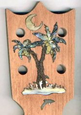 Headstock with Inlay