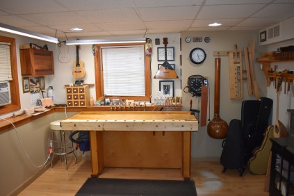 the new workbench location