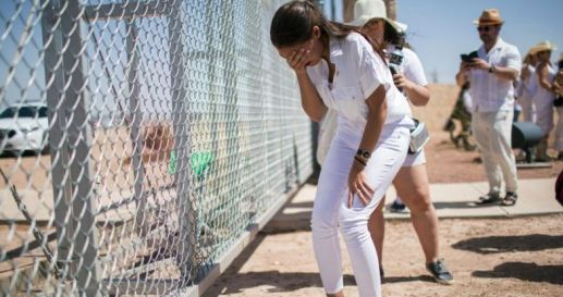 AOC crying for caged children