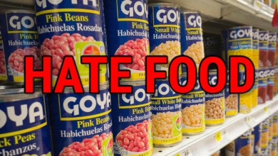 "Photo of Goya brand to be categorized as ""hate food"" amid CEO's praise of Donald Trump"