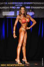 Karen Roberts - 1st ever Bikini Competition