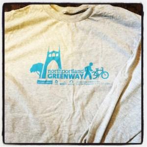 Awesome npGreenway t-shirt!