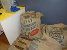Coffee beans from Honduras