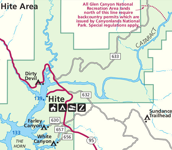 Lake Powell Maps | NPMaps.com - just free maps, period.