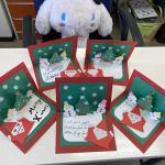 クリスマスカードで来ました!