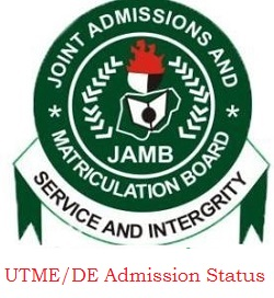 Check 2020/2021 UTME/DE Admission Status on CAPS: www.jamb.org.ng