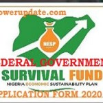 www.survivalfundapplication.com. How to activate and Login for Survival Fund Application Form