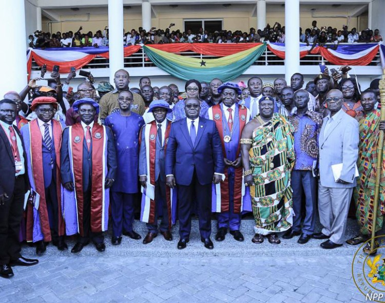 """PROMOTE THE SPIRIT OF RECONCILIATION"" – PRESIDENT AKUFO-ADDO TO NEW UEW VICE CHANCELLOR"
