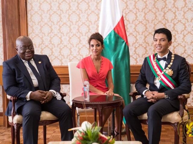 NEW MADAGASCAR PRESIDENT IMPRESSED WITH GHANA'S DEVELOPMENT UNDER PRESIDENT AKUFO-ADDO