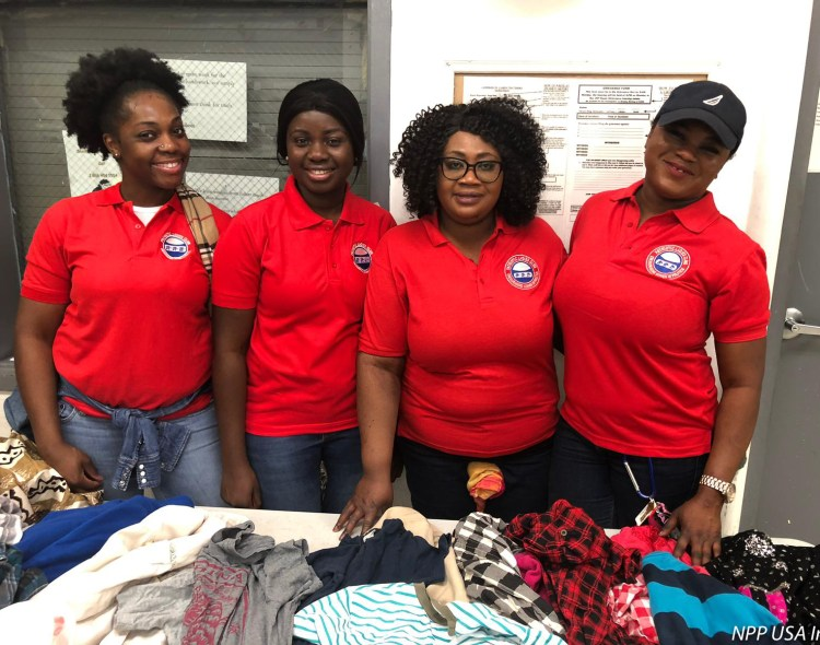 Patriotic Ladies Club (USA) Sends Love to the Needy in Washington D.C.