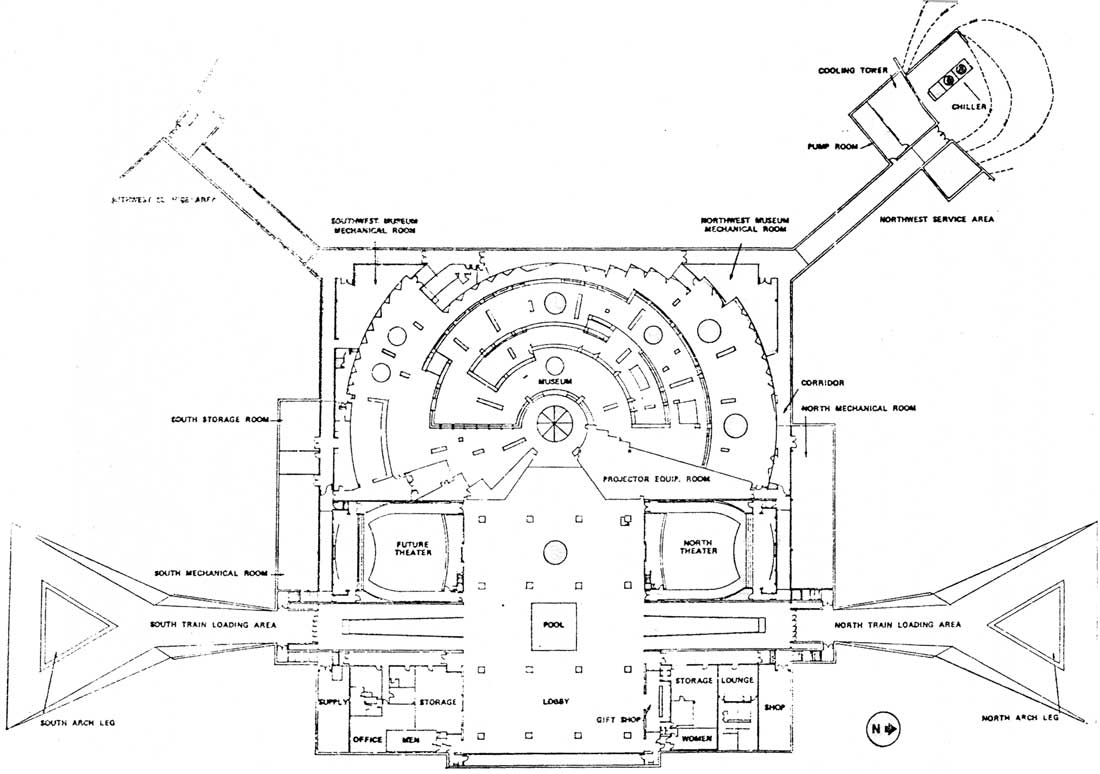 Jefferson National Expansion Memorial: Administrative