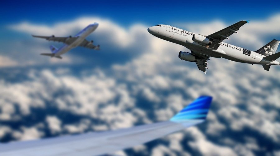 aircraft, sky, flying
