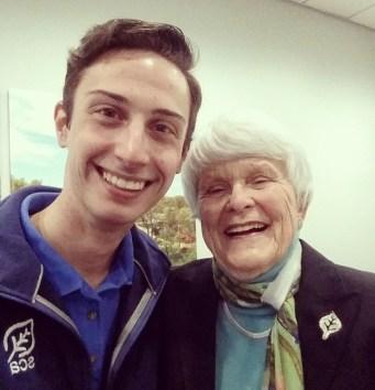 Got to meet SCA founder Liz Putnam!