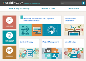 Usability Gov Front Page