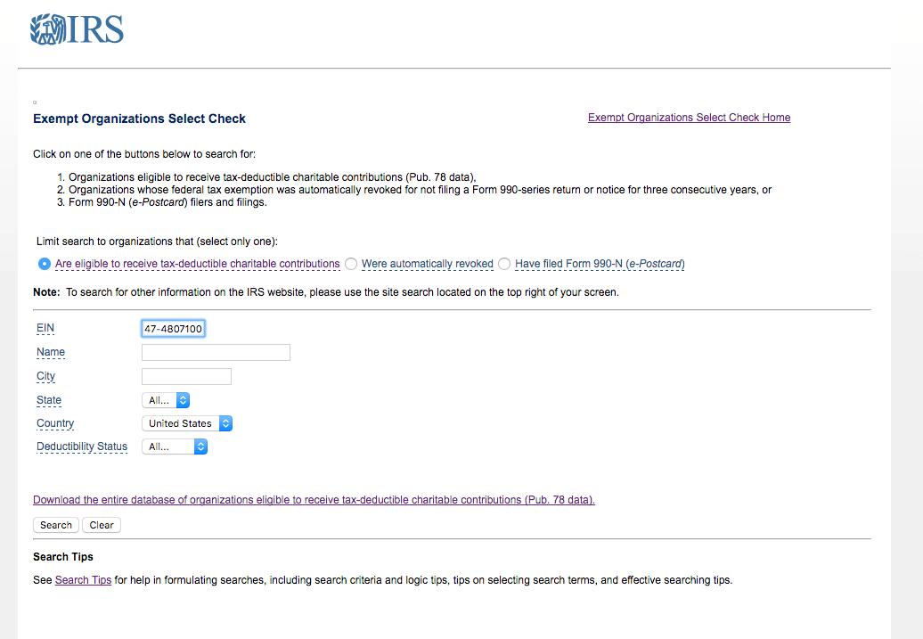 Google For Nonprofits Instant Rejection Check Irs Public 501c3