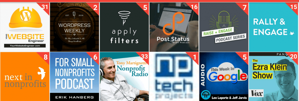 Podcast Covers #PodcastDay