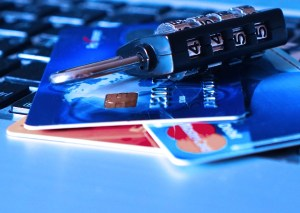 Donor Privacy: Featured Image: Padlock Charge Card Bank Card Credit Card Theft
