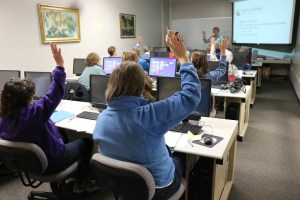 Computer class room for Hands-on training