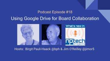 Using Google Drive for Board Collaboration - Episode Cover
