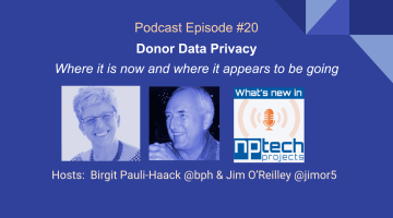 Episode #20: Donor Data Privacy