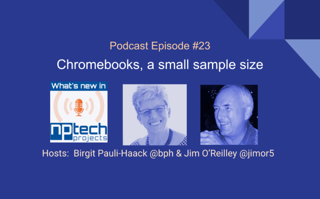 Episode:23 Cover Chromebooks a small sample size