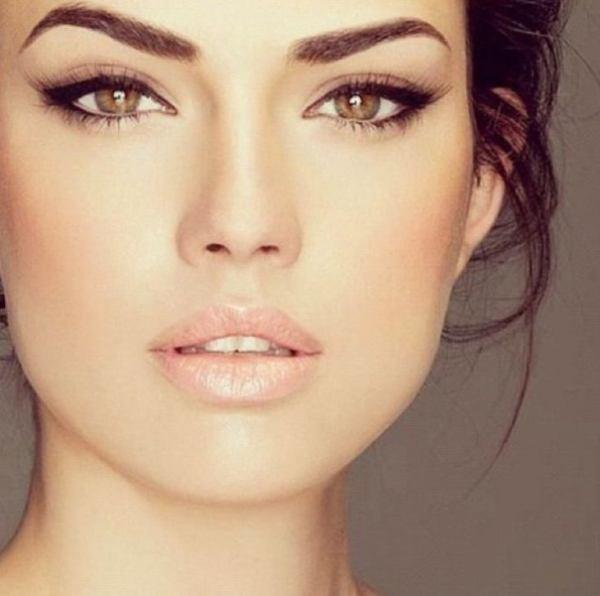 Вечерний макияж для карих глаз: пошаговое фото – в ...