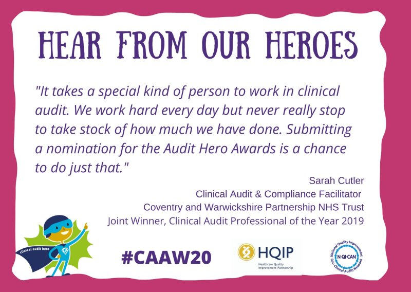 Quote from sarah audit heros
