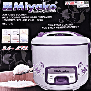 ASL 702 rice cooker