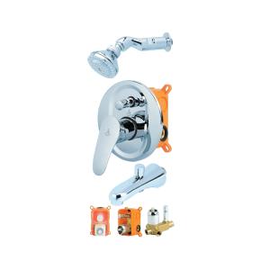 Elite Conceal Shower Mixer Set