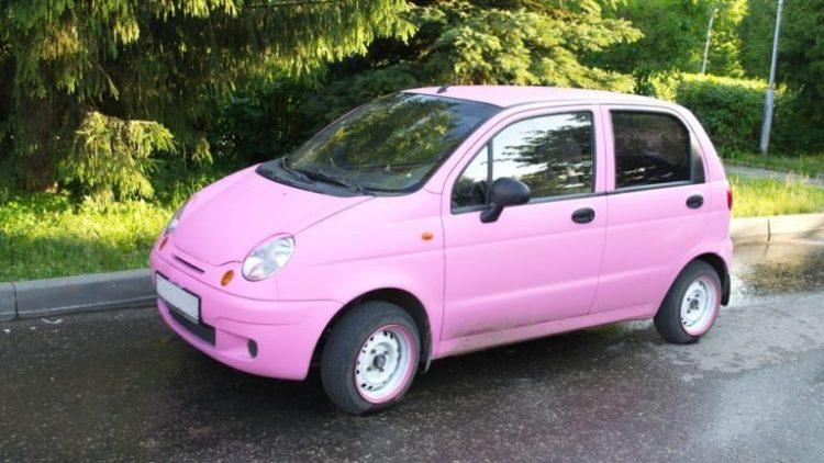 автомобили для женщин Daewoo Matiz