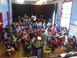 NRYO 2013 Concert Room Rehearsal